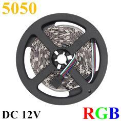 $4.01 (Buy here: https://alitems.com/g/1e8d114494ebda23ff8b16525dc3e8/?i=5&ulp=https%3A%2F%2Fwww.aliexpress.com%2Fitem%2FDC-12V-IP65-Waterproof-5M-150LED-300LED-RGB-LED-Strip-Flexible-Light-5050-SMD-Lampada-LED%2F32601312562.html ) DC 12V IP65 Waterproof 5M 150LED 300LED RGB LED Strip Flexible Light 5050 SMD Lampada LED Light RGB Tape LED Ribbon Lamp Garden for just $4.01