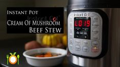 Instant Pot Cream Of Mushroom Beef Stew _ #Perfect To Warm You Up