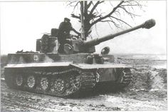 Tiger I from schwere abt 507, late 1944. | par WW2 Panzer