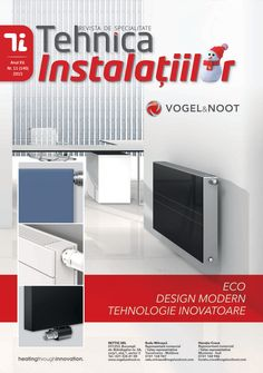 Revista Tehnica Instalatiilor nr. 11_140_2015 Modern Design, Home Appliances, Journals, House Appliances, Contemporary Design, Appliances