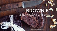 paleo brownie z banana i jabłka