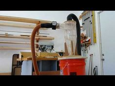 Shop Vac Cyclone Wood Working - YouTube