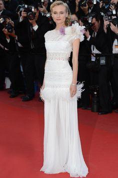 #DianeKruger · Vestido de #NinaRicci