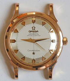STUNNING Omega Constellation Piepan In Rose Gold #Omega #Constellation #Watches #Menswear #Watchporn #Vintage #Classic #Gold #Rosegold #Crosshair #Chronometer - omegaforums.net
