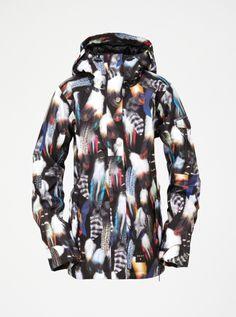 Jetty 8k Shell Snow Jacket