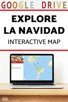 Are you trying to find lesson plans for La Navidad? Check out this virtual field trip for the holiday season in your middle school or high school Spanish classroom! No prep resources for Christmas and holidays around the world are included here in a post and go or print and go lesson plan for your Spanish class! This digital map activity is a great way to explore geography and holiday traditions in the Spanish-speaking world! Click to see more!