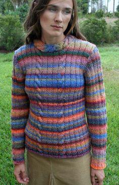 Serenity Pullover Knitting Pattern
