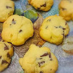 子供のバレンタインデー用に、、 - 6件のもぐもぐ - チョコチップクッキー by nkumiko29
