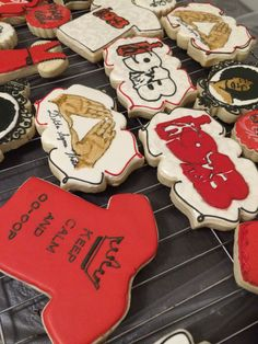 Delta sigma theta cookies