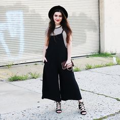 Get this look: http://lb.nu/look/8339284  More looks by Carly Maddox: http://lb.nu/carlymaddox  Items in this look:  Dezzal Wide Leg Jumpsuit   #casual #chic #classic