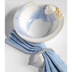 Beachcomber Seashell Accent Bowls - set of 4