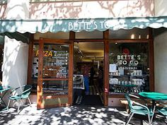 Bettes To Go ::  Fourth Street :: Berkeley :: California