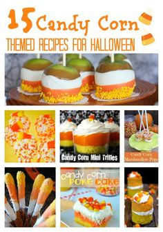 15 Brightly Colored Candy Corn Themed Recipes - In The Kitchen With KP