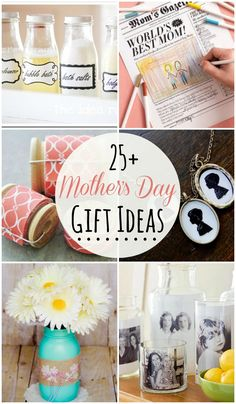 25+ Mother's Day Gift Ideas to inspire you as you think of the perfect gift for your mom or grandmother! { lilluna.com }