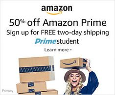 Prime Student Trial Our membership program offers special benefits to college students including: * Unlimited FREE Two-Day Shipping (with no minimum order size) * Exclusive deals and promotions for college students Game Boy, Super Nintendo, Drop Leaf Kitchen Island, Rent Textbooks, Textbook Rental, Island Cart, Streaming Tv Shows, Amazon Fire Tv, Photo Storage