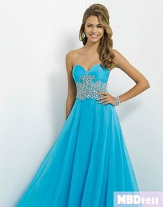 I want to wear a really pretty gown to prom