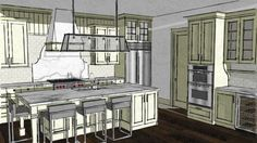 Amplia vista previa del modelo 3D de Kitchen