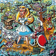 Acid Blotter Art