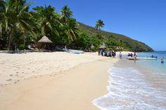Likuliku Beach and the Octopus Resort, Waya Island, Fiji.