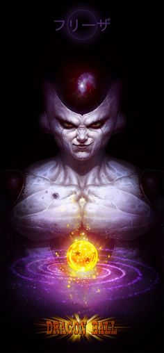 A Collection of Terrifying Dragonball Z Portraits