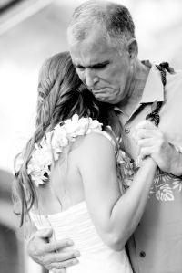 i wish i could have this moment with my father at my wedding.