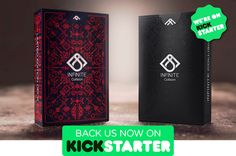 Infinite Collision Playing Cards on Behance