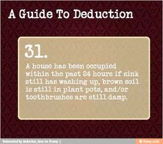 A guide to deduction 31