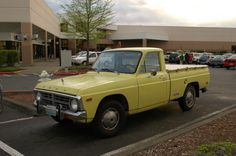 1974 Ford Courier-yellow-my Ford Trucks, Pickup Trucks, Ford Courier, Cars, Yellow, Autos, Car, Ford, Automobile