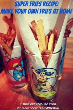 How to Make French Fries at Home (easy and frugal!)