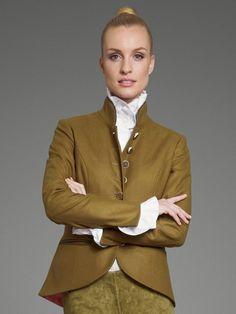 Trachtenjanker in Khaki von OWLOON Modell Salzburg - ideal für jedes Trachtenoutfit