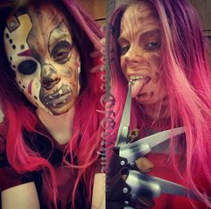 #jason #jasonvoorhees #freddy #freddykrueger #freddyvsjason#horror #horrormovies #makeup #makeupart #cosplay