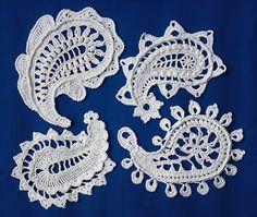 """Paisley Magic"" #crochet pattern by allescaro design. PDF pattern $7 via Etsy or Ravelry."