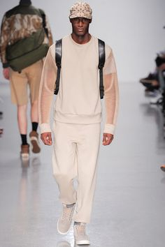Christopher Raeburn Spring 2014 Menswear Collection Slideshow on Style.com