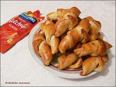 Cornuri aperitiv (pizza) Pretzel Bites, Pizza, Bread, Food, Eten, Bakeries, Meals, Breads, Diet