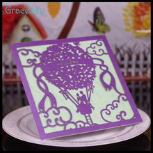 50 PCSLaser de corte de papel de papel cartão de convite da festa de casamento com casal de Design frete grátis(China (Mainland))