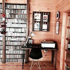 大量のはCDのインテリア実例 - mamyuの部屋 - 2017-09-07 23:04:23