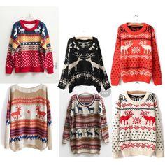 Reindeer Christmas Sweaters