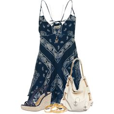 """Dresses with Pretty Prints"" by cindycook10 on Polyvore"