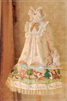 Dear Celine Forest Fairy Print Doll OP Any Color