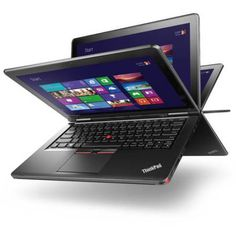 Lenovo Ultrabook Black 12.5 ThinkPad Yoga 12 20DL0038US touch screen 2-in-1 Convertible Laptop PC with Intel Core i5-5300 Processor 8GB Memory 180GB Solid State Drive and Windows 8 Pro