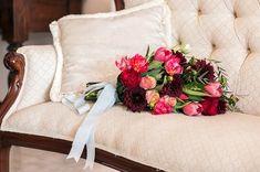 WEDDING   Theo & Tia  FLOWERS   Tulips, cymbidium, roses  PHOTO   Leze Hurter Photography Tulips, Bouquets, Roses, Throw Pillows, Flowers, Photography, Wedding, Valentines Day Weddings, Cushions