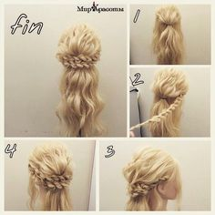 Image via We Heart It #hair #hairstyle #tutorial