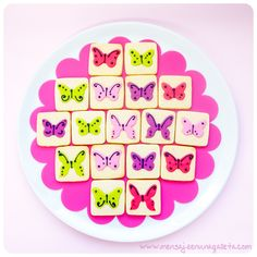 recipe {butterfly cookies}