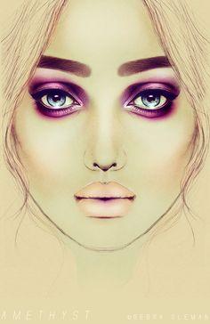 AMETHYST by illusionality.deviantart.com on @DeviantArt