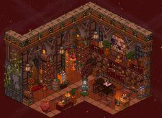Wine Cellar by LaSilentCreature
