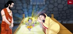 Image result for lord krishna birth celibration Krishna Birth, Lord Krishna, Blue Balloons, Krishna Images, Fun, Sweet, Fin Fun, Krishna Pictures, Lol