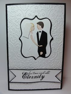 The Cricut Bug: For Eternity- Cricut Sweethearts and Elegant Edges  carts; Embossing Folders Cuttlebug Textile and Sizzix Flower Vine
