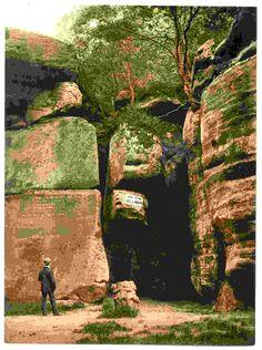 new to site Tunbridge Wells, The High Rocks, II., England