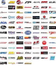 Various Existing Auto Logos
