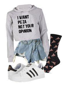 """"" by pyatt184 ❤ liked on Polyvore featuring HOT SOX and adidas"